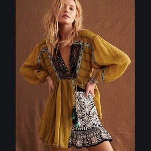 FREE PEOPLE | Sabeena Embroidered Tunic